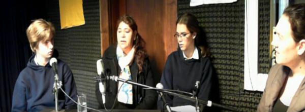 Proyecto MIRADAS: Alumnos de la Escuela Escocesa San Andrés entrevistan a Graciela Osuna