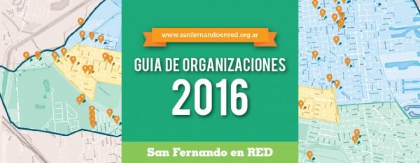 ¡Presentamos la Guía de organizaciones 2016!