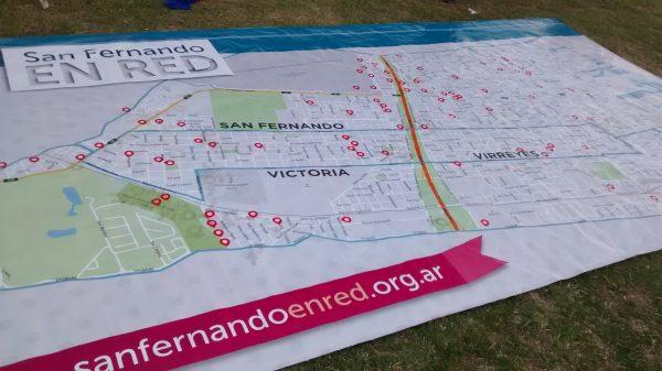 San Fernando en Red en el festival de la comunidad ampliada San Andrés