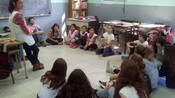 Visita a Escuelas del delta junto a alumnos de la Escuela Escocesa San Andrés