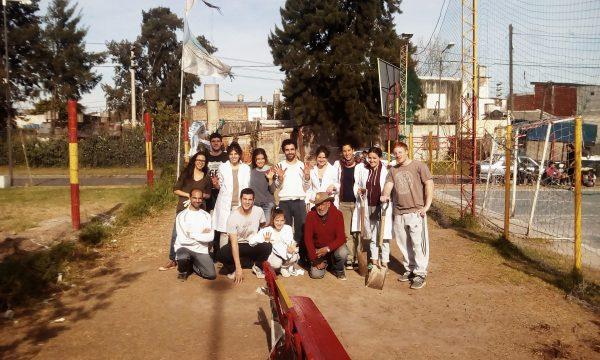 Jornada de voluntariado en la Sociedad de Fomento Güemes