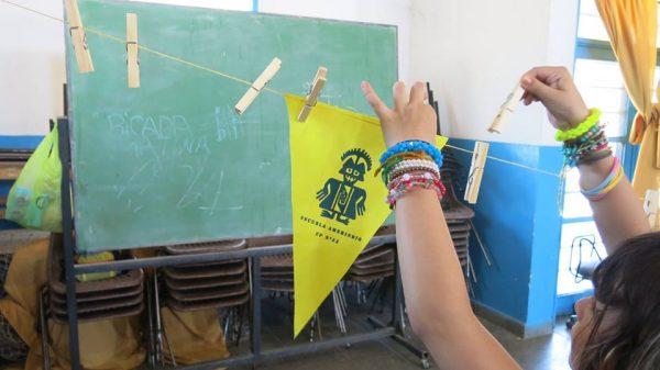 ¡Taller de Serigrafía en Escuela Primaria N° 23 coordinado por Zona Imaginaria!