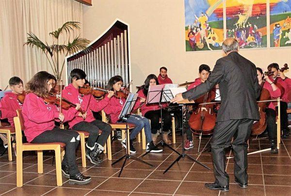 ¡La Orquesta del centro ASE en Alemania!