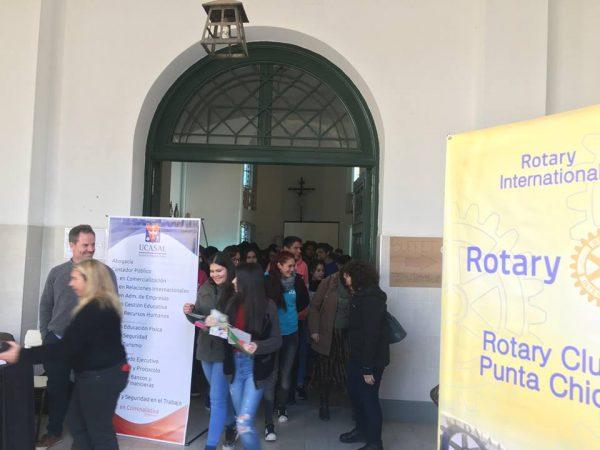 III Expo Estudios 2018 organizado por el Rotary Punta Chica