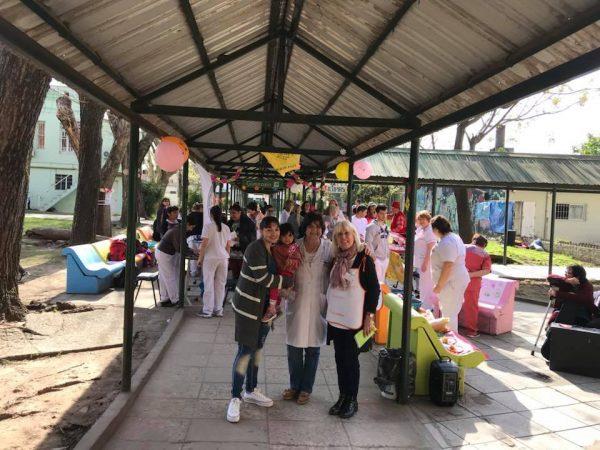 Festejo del día de la Primavera en el Hospital Petrona Cordero de San Fernando