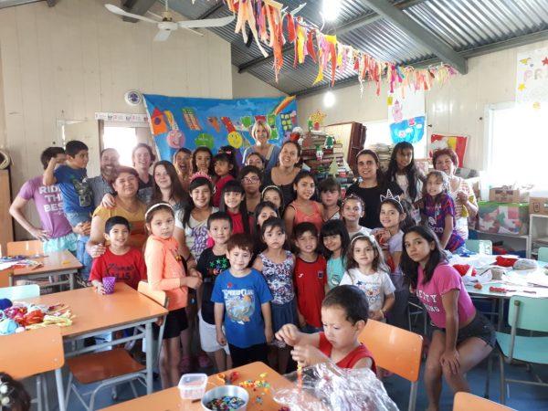 Festejo de Fin de Año en Biblioteca El Ombú