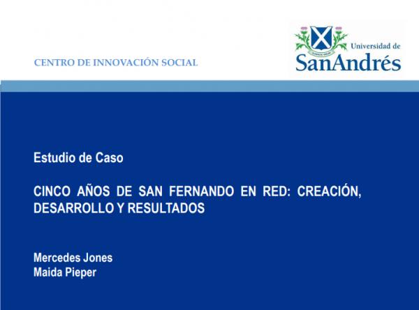 PARA AGENDAR: 29/5 Presentación Caso San Fernando en Red