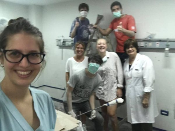 Jornada de Pintura en el Hospital Petrona Cordero