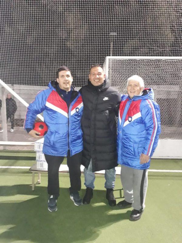 Fútbol con el Chipi Barijho, en el Club Itatí, miembro de SFR