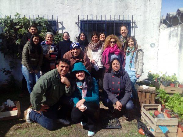 Jornada de intercambio de saberes y semillas en Patronato de Liberados Delegación San Fernando