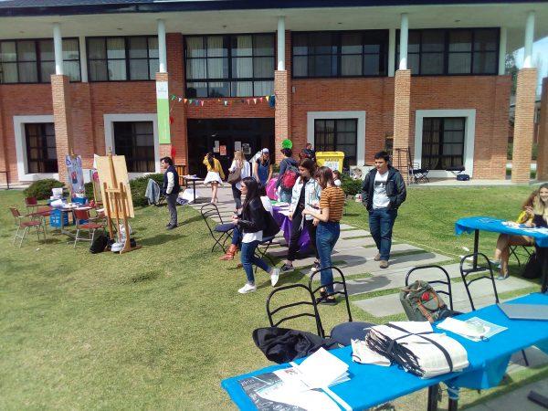 San Fernando en Red presente en la Feria de Organizaciones Estudiantiles de la Universidad de San Andrés