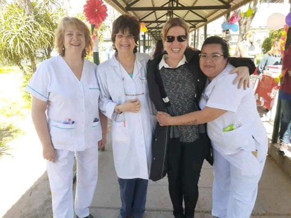 Festejo del Día de la Primavera en el Hospital Petrona Villegas de Cordero de San Fernando