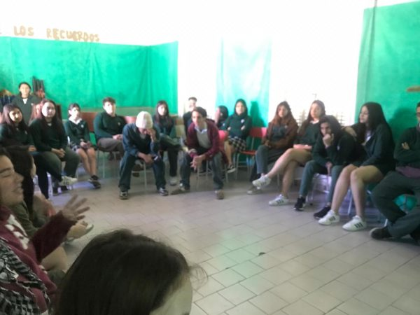 Presentación de San Fernando en Red al Colegio San Fernando