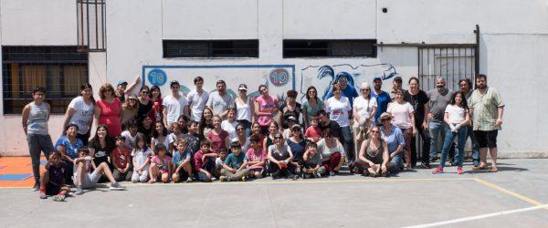 Jornada comunitaria en Escuelas 15 y 23 de San Fernando