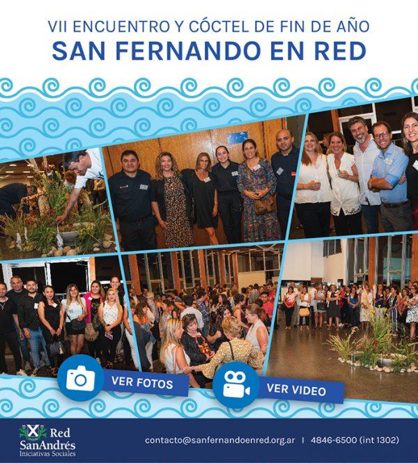 VII Encuentro y Cóctel de Fin de Año de San Fernando en Red
