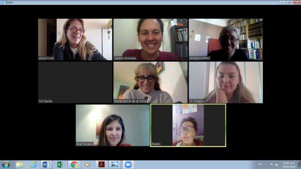 Encuentros y Capacitaciones Virtuales para San Fernando en Red