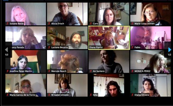 Encuentro virtual Mesa de Niñez de San Fernando