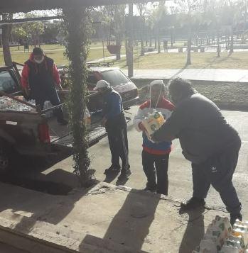Donación de aguas de Nilus a organizaciones de la Red