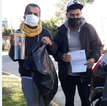 Entrega de máscaras a organizaciones de San Fernando en Red