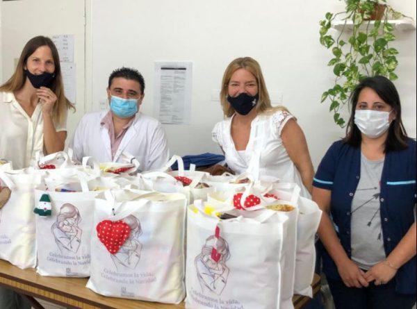 Fundación por el Desarrollo Comunitario San Andrés entrega Bolsas Navideñas al personal del Hospital de San Fernando