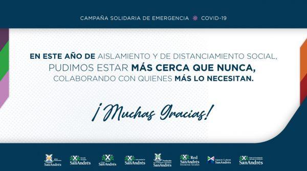 Resumen Campaña Solidaria de Emergencia Covid-19