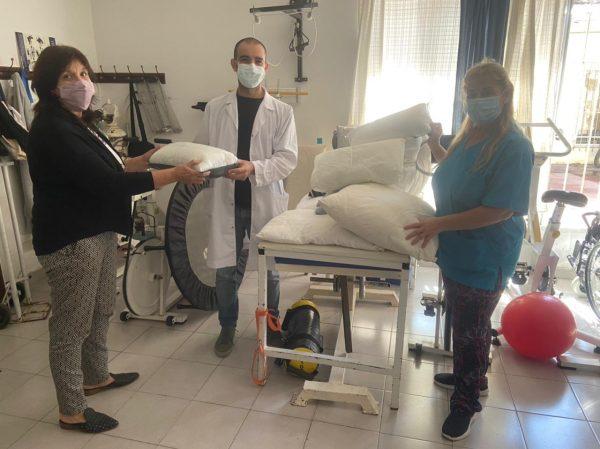 Estudiantes de la Escuela San Andrés colaboran con el Hospital Provincial Petrona V. de Cordero