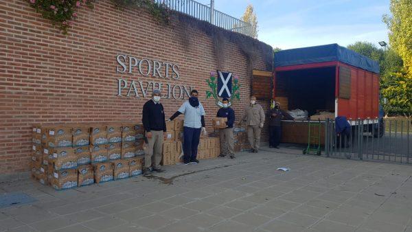 #EmpresasPresentes - Donación de artículos de limpieza para organizaciones de San Fernando
