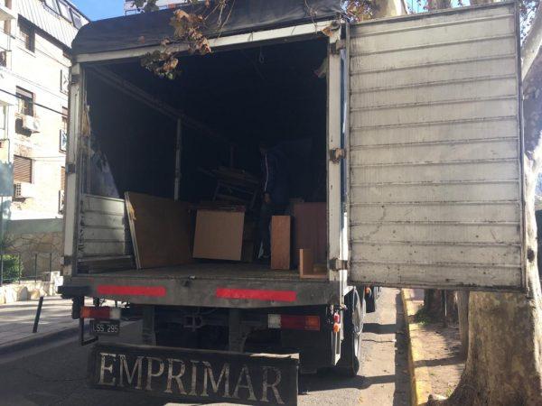 RED en acción - Entrega de mobiliario a organizaciones de San Fernando en Red